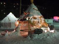 北海道~阿寒湖氷上フェスティバル