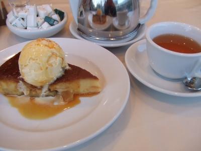 Afternoon Tea TEAROOM スウィートポテトプディング ダージリン&ジャスミン