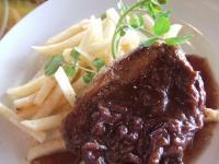 Table Modern Service JIYUGAOKA ~ chef's Lunch ハーフコース サーロインステーキ赤ワインソース