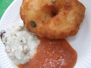 南インド料理~ワダ