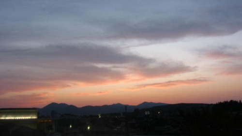 2009.4.22夕日