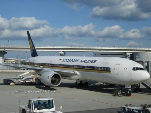 シンガポール航空の機体