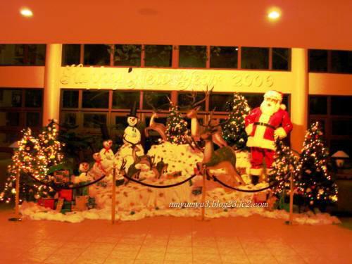 フルレアイランドホテルのクリスマス飾り