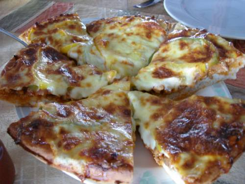 マンティリシェフの手作りピザ