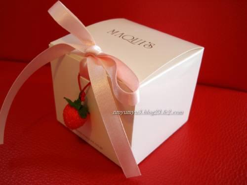 プレゼント用のパッケージ
