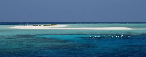 フェリドゥ環礁の無人島