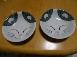 ネコ皿 2009.3.22