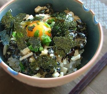 黒豆納豆ご飯