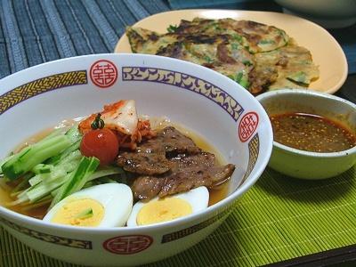 冷麺&チヂミ