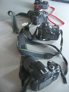 カメラ4台