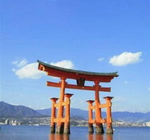 広島の厳島神社bA