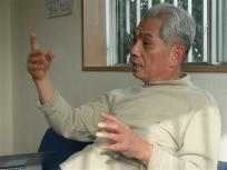 この方が地元熊本の海苔問屋の吉田俊一さん、藤森組合長が尊敬する「海苔の鉄人」です