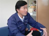 この方はナギサの開発に携わった熊本県漁連の太田部長さんです
