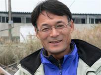 川口漁業協同組合の福島勉参事さん、いつもお世話になってます。いつもご無理言ってすみません^^;