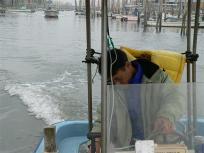 今日は美味しい熊本海苔あかつきちゃんの初摘みを案内していただけるそうです
