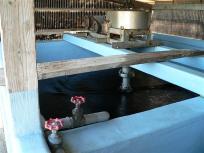 熊本海苔を作る工場に案内していただきました