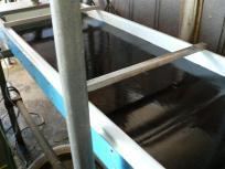 P1050449工場で使う水は地下深くから汲み上げた美味しい水を使っています。これも熊本海苔が美味しい秘密ですね^^