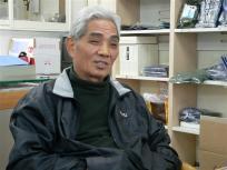 P1060482熊本海苔問屋の吉田俊一さんです。海苔の流通について教えてください