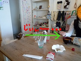 cafeにて⑥