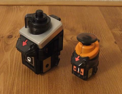 DX仕様カメラスイッチ&ミニミニ・ロケットスイッチ