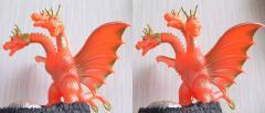 キングギドラ 出現バージョン(羽沢組):その3(3D・平行法対応)