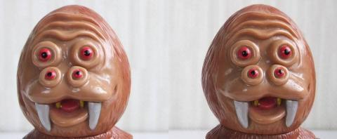 もんべつご当地怪獣 モンベモン(3D・平行法対応)