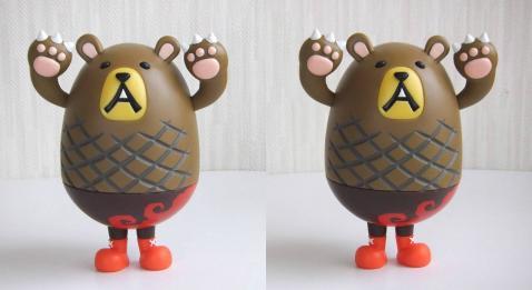 ハンバーグマのグーグー(3D・平行法対応)