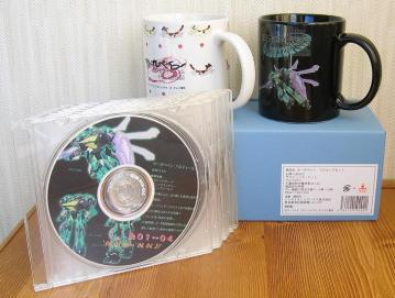 マグカップ & 本放送時エアチェック自作DVD