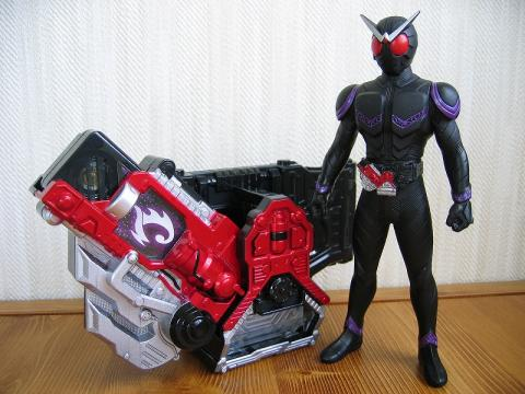 仮面ライダージョーカー&ロストドライバー with T2メモリ