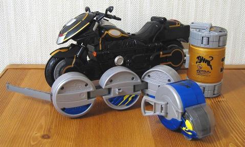 DXトライドベンダー & 電気ウナギカンドロイド
