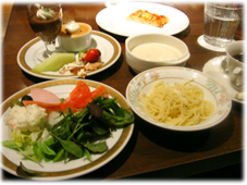 3皿目と軽食