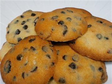 チョコチップとクランベリーのクッキー