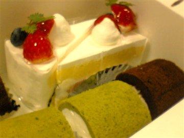 ウイークデイのケーキ