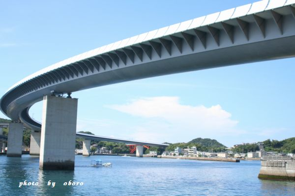 2008 8月13日 天草 ハイヤ大橋