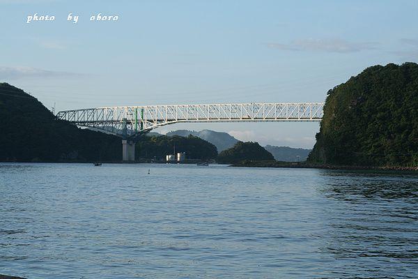 2008 8月13日 天草五橋 1号橋 遠景