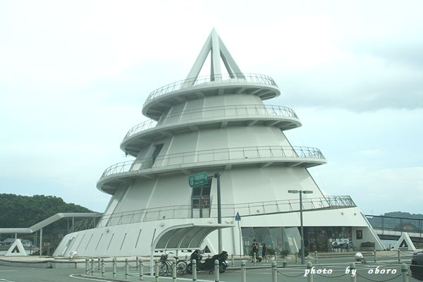 2008 8月13日 天草 三角駅 モニュメント