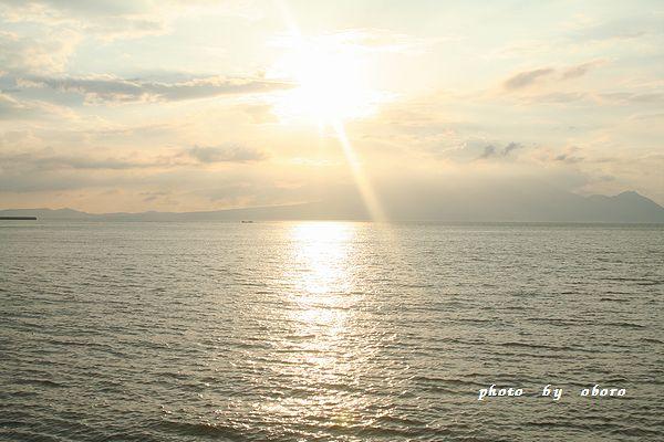 2008 8月13日 天草 夕暮れの海