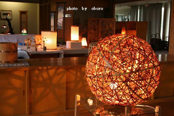 2008 8月15日 温泉と花火大会 水灯りより2