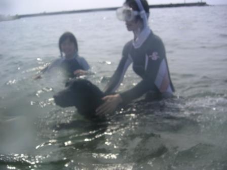 My Family in 内灘の海