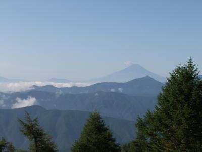 七ッ石山から見た富士山