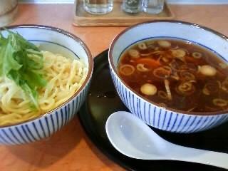 アジト@醤油つけ麺