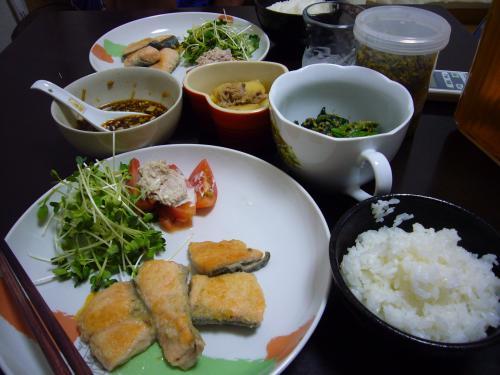 9月11日の夕飯