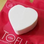 TOFU, LOVE Professional makeup spounge