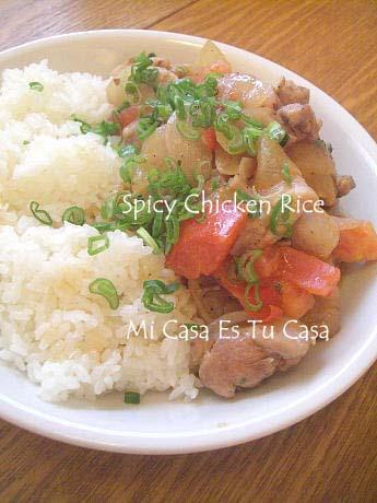 Spicy Chicken Rice copy