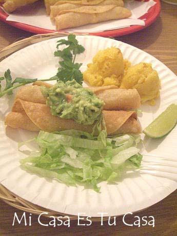 Taquitos Plate copy