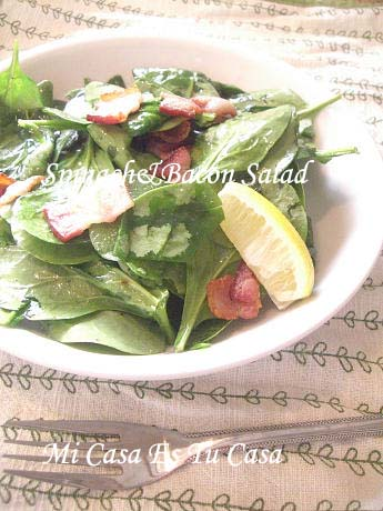 SpinachBacon Salad copy