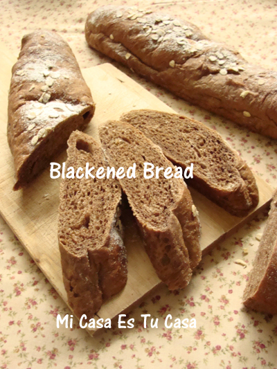 Blackened Bread