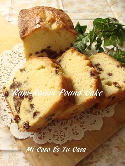 Rum-Raisin Cake