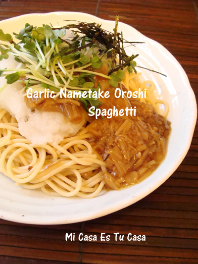 Garlic Nametake Oroshi