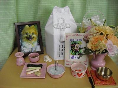ピンク仏具